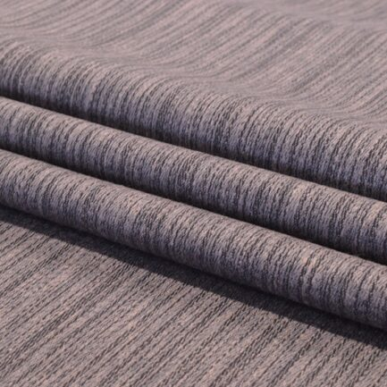 Charcoal Streaks - Linen Polyester