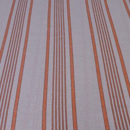 Orange Ticking - Spanish Linen