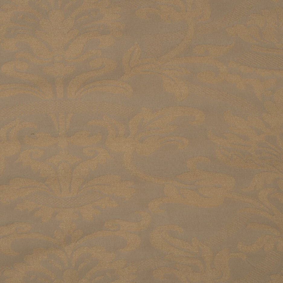 Apricot Damask - Cotton Polyester