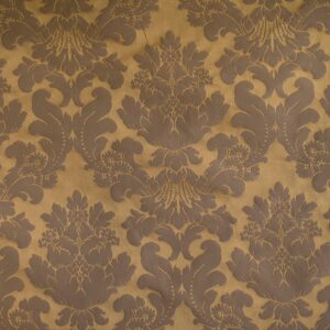 Bronze French Damask - Cotton