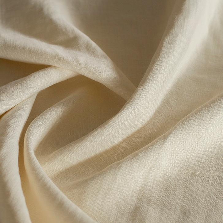 Fh222 Ivory Belgian Linen