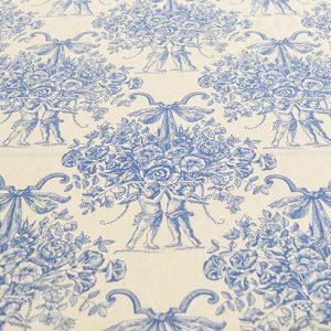 Azure Bouquet - Cotton