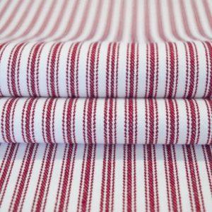 Red Ticking - Cotton