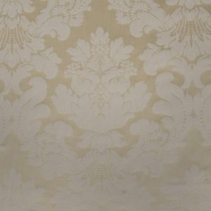 Ivory Cotton Damask