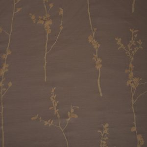 Japanese Flowers - Embroidered Cotton/Polyester