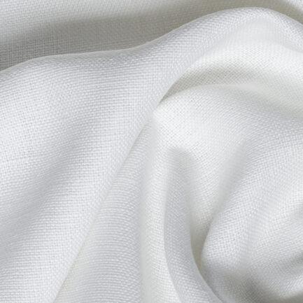 White - 100% Belgian Linen