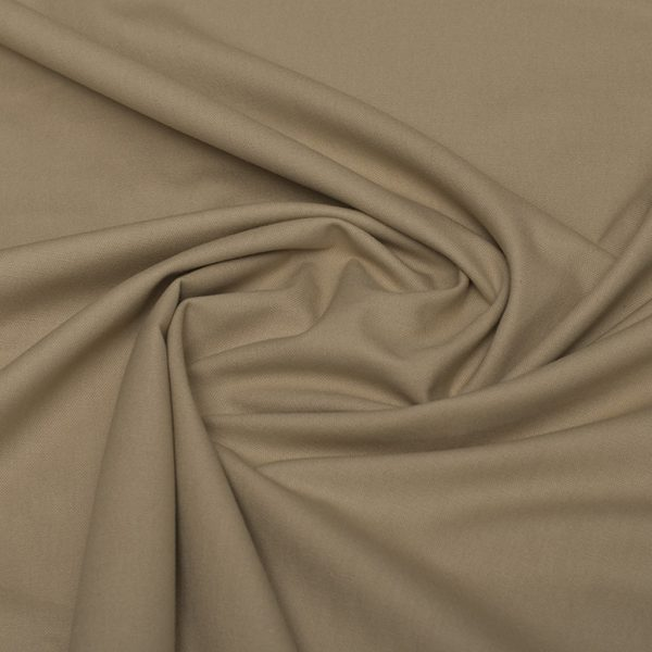 Sand - warm neutral cotton fabric Spanish Cotton/Linen