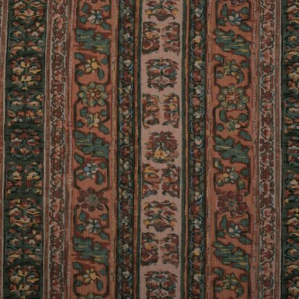Tabriz Peach - Cotton Fabric