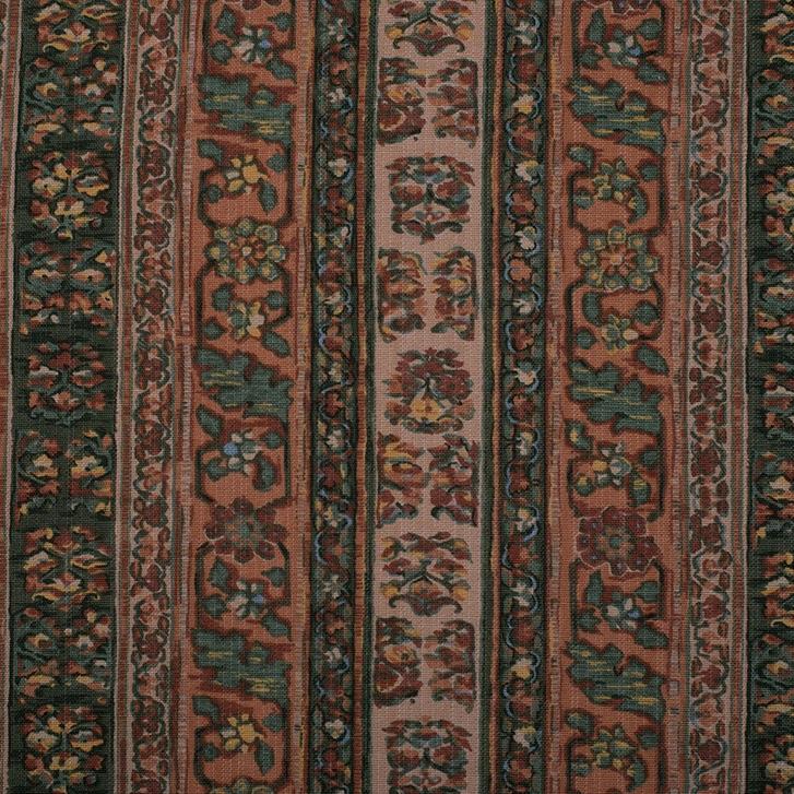 Tabriz Peach - Cotton Fabric