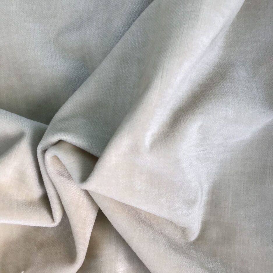 Vanilla - Velvet Fabric