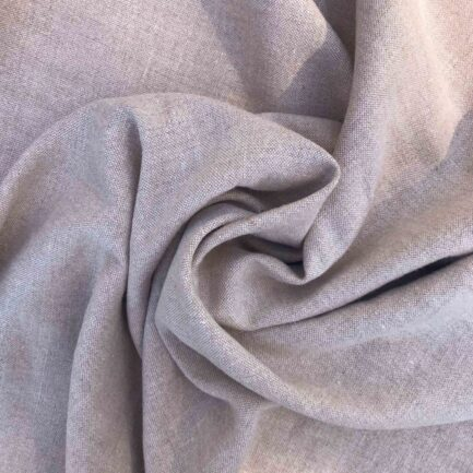 Carob Brown - Belgian Linen/Poly
