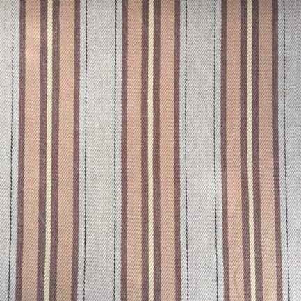 Caramel Striped Stonewash - Belgian Linen