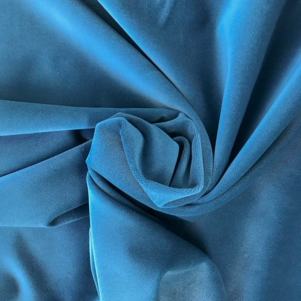 Ermellino Blue - French Velvet