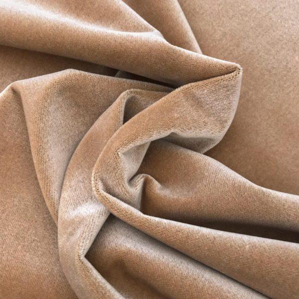 woodtone velvet upholstery fabric