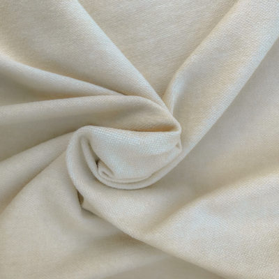 off-white Brushed Linen : Dyed Natural - Brushed Linen/Cotton