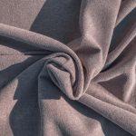 Worn Mauve - Linen/Cotton Fabric