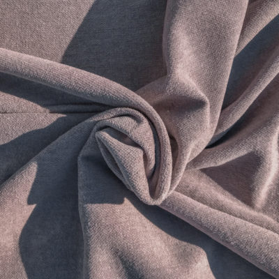 Worn Mauve - Linen/Cotton Fabric