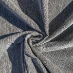 Slate Cotton-Chenille Fabric