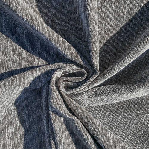 Slate Cotton-Chenille Fabric