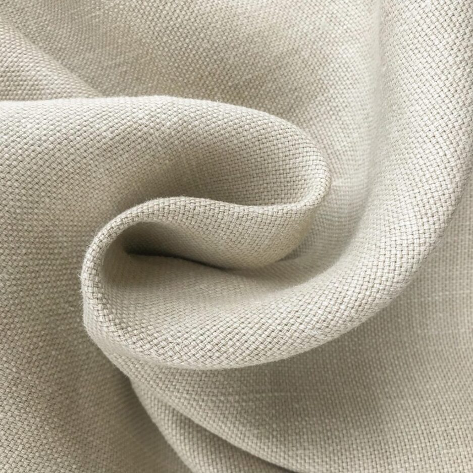 Bone - Belgian Hemp Fabric
