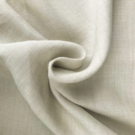 Bone - Belgian Hemp Fabric