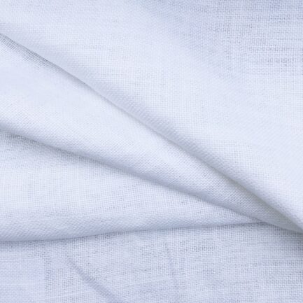 Optical White - Belgian Linen
