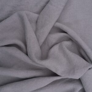 Light Grey - Belgian Linen fabric