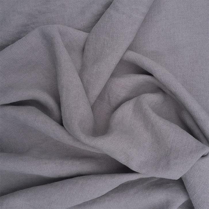 Light Grey - Belgian Linen fabric