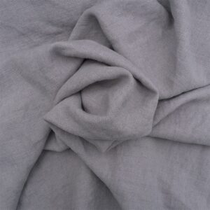 Light Grey -Stonewash Belgian Linen Belgian Linen fabric
