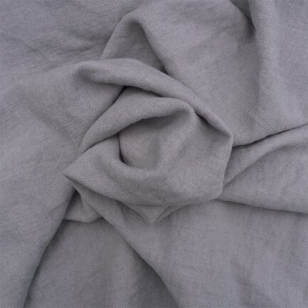 Light Grey Stonewash - Belgian Linen/Polyester