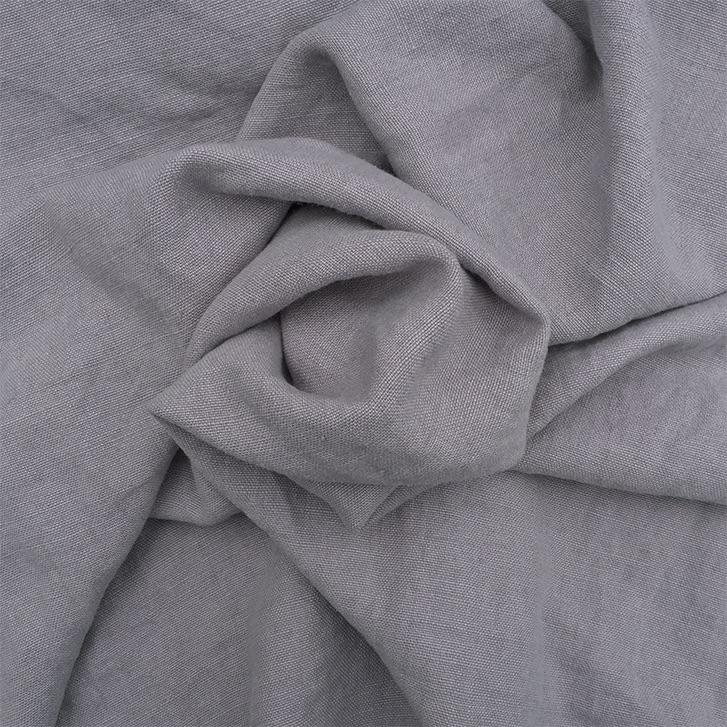 Light Grey -Stonewash Belgian Linen Belgian Linen fabric