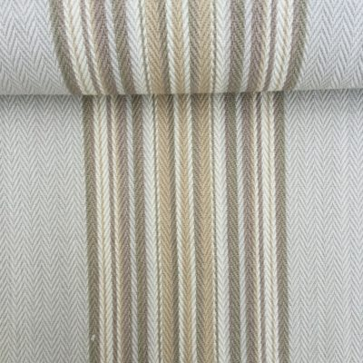 FH716 Weekend Stone - French Striped 100% Cotton