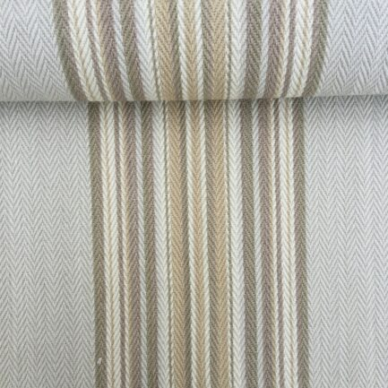 Weekend Stone - French Striped Cotton