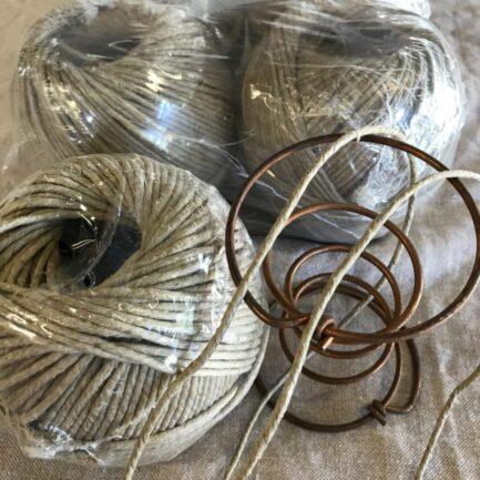 Lacing Twine - European Flax/Linen Waxed