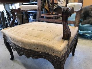 Upholstery Webbing - Herringbone Weave Black/White