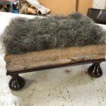 horse hair - upholstery stuffing