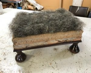 horse hair - upholstery stuffing