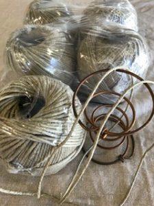 Upholstery Twine - Linen Flax Twine