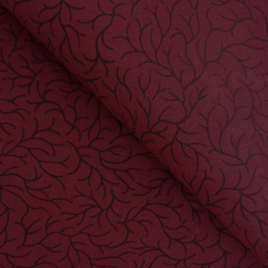 Hunan red cotton-linen