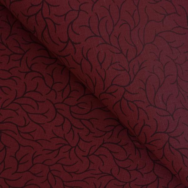 Hunan red cotton-linen