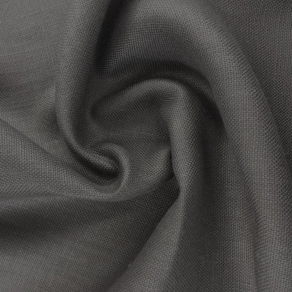 Dark Grey Belgian Linen