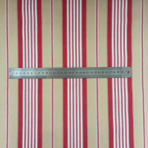 French Ticking - Red