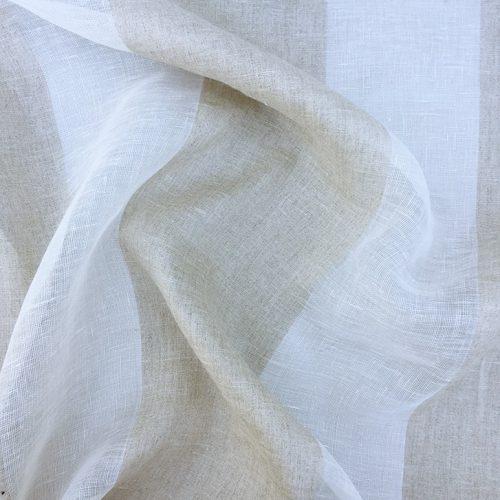 Striped Sheer - Belgian Linen