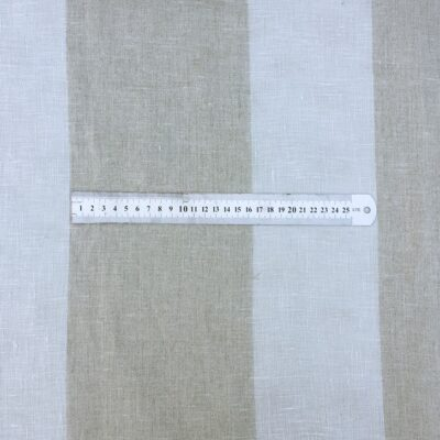 Striped Sheer - Belgian Linen