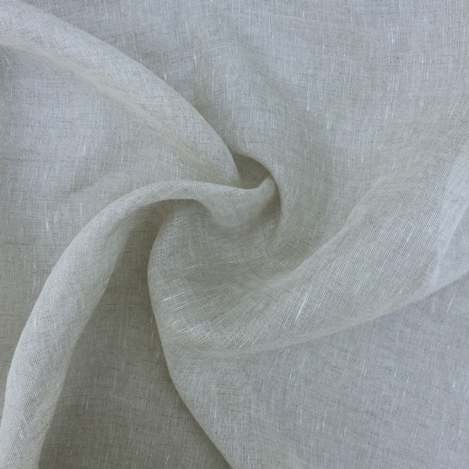 Salt and Pepper Sheer - Belgian Linen
