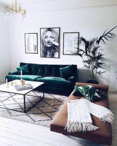 velvet-sofa