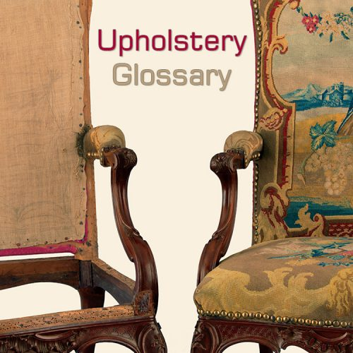 Upholstery Glossary: The terms you need to know about upholstery