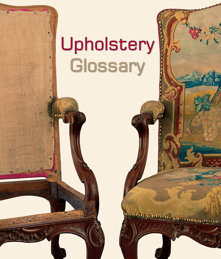 , Upholstery Glossary: The terms you need to know about upholstery
