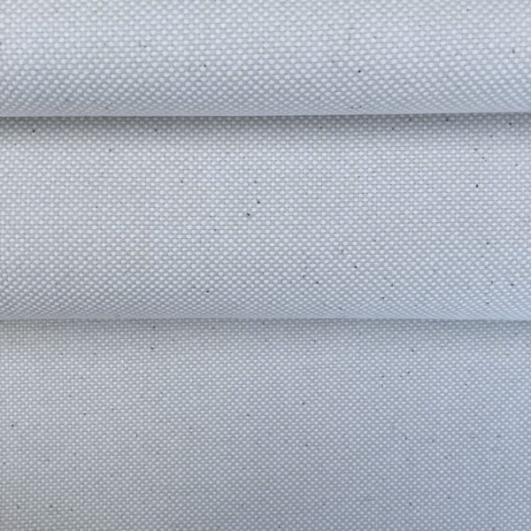 white Spanish linen/cotton