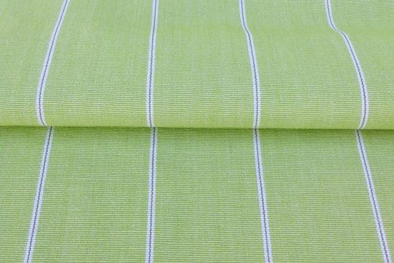 Apple Green Pinstripe – Cotton